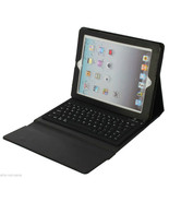 Wireless keyboard leather black case for Ipad 4 3rd A1416 A141 A1460 A14... - $52.86
