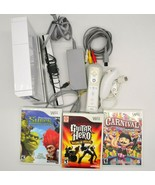 Official Nintendo Wii Console with Games and Accessories - $161.36