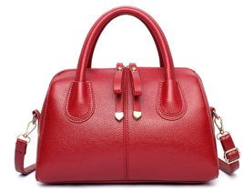 Solid Color Zipper Women Shoulder Bags Large Handbags Tote Bags M229-1 - $41.00