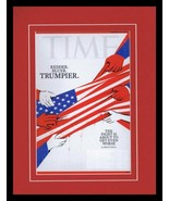 Time Magazine Nov 19 2018 ORIGINAL Framed 11x14 Cover Display Donald Trump - $32.36