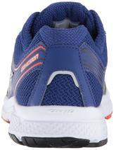 Saucony Herren Silber Blau Grid Cohesion 10 Laufen Läufer Schuh Sneaker Nib image 4