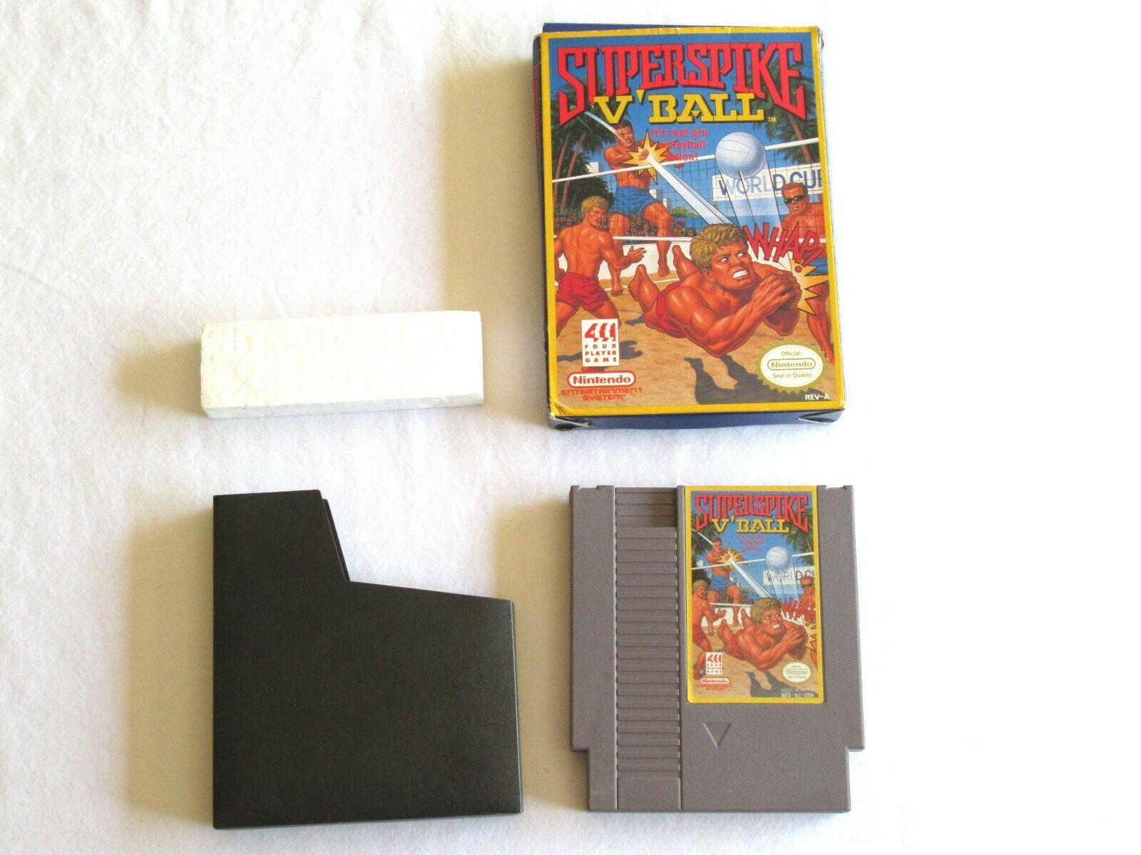 Primary image for Super Spike V'Ball Nintendo Entertainment System 1990 NES Cart Box Styro Tested