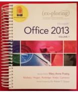 Exploring MicroSoft Office 2013 Spiral Bound ISBN 9780133142679 - $12.95