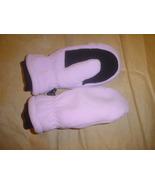 Land's End Fleece Mittens Medium Pink  - $17.99