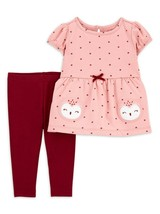 Child of Mine Carter's Baby Girls' Owl Outfit, 2 Piece Size 6-9 M - $12.99
