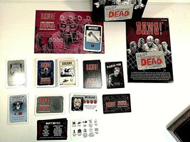 Bang! We Are The Walking Dead Expansion New Open Box USAopoly Game Compl... - $14.54