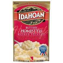 Idahoan Mashed Potatoes 4 oz Pouch Pick any 1 Flavor Buy More & Save - $2.31