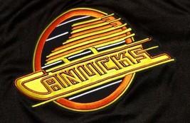 Vtg Maska Vancouver Canada Canucks NHL Hockey Jersey Shirt CCM 90s Sport... - $59.99