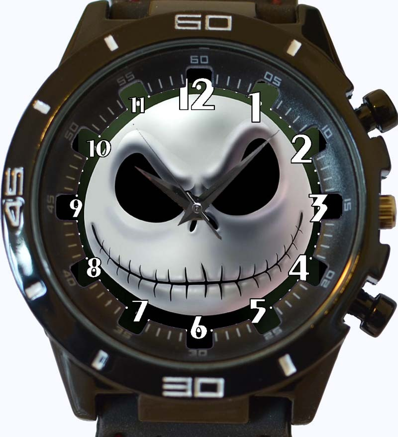 Jack Skellington Face New Gt Series Sports Unisex Gift Watch