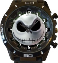 Jack Skellington Face New Gt Series Sports Unisex Gift Watch - $34.99