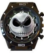 Jack Skellington Face New Gt Series Sports Unisex Gift Watch - $663,90 MXN