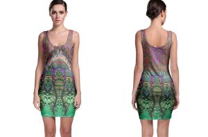 Authentic funkadelic bodycon dress