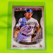 Mlb Mike Piazza La Dodgers 2016 Topps Mlb Debut Insert Mint - $1.58