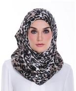 BOKITTA FAHED RAMADI - PRINTED SMOOTH CHIFFON INSTANT HIJAB Muslim Scarf... - $55.62+