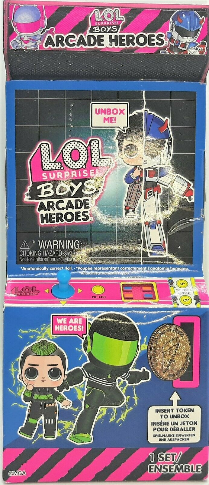 Primary image for L.O.L. Surprise Boys Arcade Heroes ~ 15 Surprises including 6 piece Hero suit