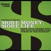Nightingale Conant More Money More Life by Stephen Pierce 8 CDs $90 Valu... - $49.99
