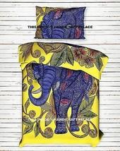Indian Duvet Doona Cover Elephant Hippie Bohemian Twin Quilt Comforter S... - $35.52