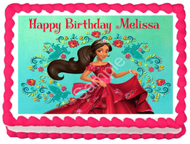 ELENA OF AVALOR Image Edible cake topper party decoration - $6.50+