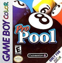 Pro Pool (Nintendo Game Boy Color, 2000) Authentic Cartridge Only - $5.95