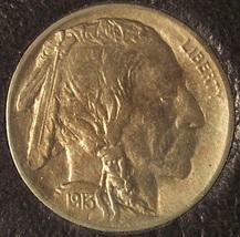 1913 Type 1 Buffalo Nickel BU #0338 - $34.99