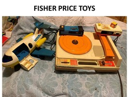 Toy Lot Fisher Price Vintage Toys - $9.89