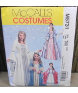 McCall's #M5731 Ladies Or Girls Princess Costume Sewing Pattern* - $15.00