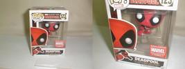 Funko Pop! Vinyl Leaping Deadpool Marvel Collector Corps Exclusive 123 MIB - $40.00