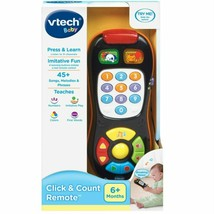 VTech Click & Count Remote Press & Learn Baby Kids Toy Play Sing Learn ... - $19.83