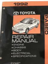 1992 Toyota Paseo Service Atelier Réparation Manuel Set Avec Ewd Câble D... - $143.49