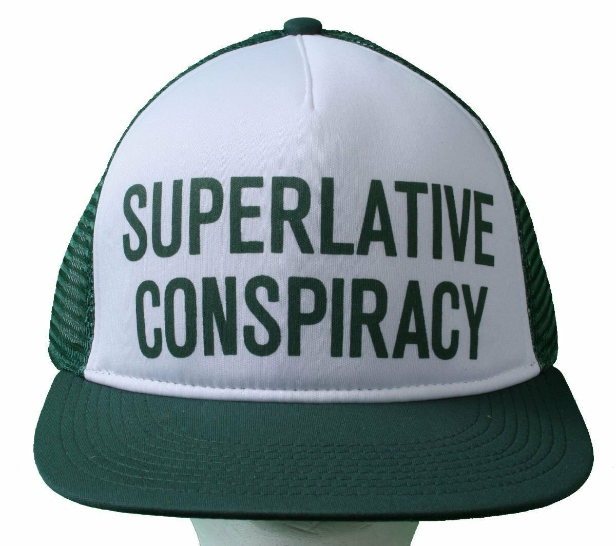 WeSC Superlative Conspiracy Trucker Cap Baseball Hat