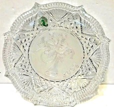 Waterford Crystal 2002 Songs of Christmas Deck the Halls Plate - $45.27