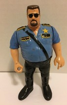 Big Boss Man WWF Vintage Action Figure by Hasbro Titan Sports 1991 - $8.90