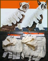 MUMMY DOG CAT PUPPY PET HALLOWEEN COSTUME-HOOD CHEST LEG COVER-DRESS 4PC... - $9.97