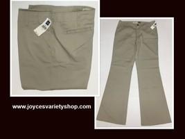 GAP Hipster Trousers Pants Beige Sz 10 image 1