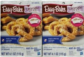 Easy-Bake Ultimate Oven Pretzel Refill Mix Lot of 2 Packs Hasbro NEW - $14.84