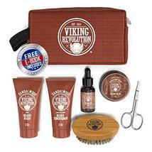 Beard Care Kit for Men Gift- Beard Grooming Kit Contains Travel Size Beard Oil,  image 2