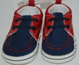 Baby Brand Red White Blue 309067 Pre Walker Infant Shoes 12 to 18 Months image 2