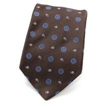 KITON NAPOLI Tie Necktie Men's Silk Brown, Blue, White NWT Retail $215 - $123.75