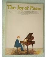 Piano: The Joy of Piano 1992 Paperback - $15.80