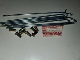 Kawasaki (8) Rear Outer Lh Spoke Set F8 F9 Bison NOS/OEM 41028-039 - $14.84