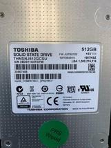 Toshiba THNSNJ512GCSU solid state drive - 512 GB - SATA 6Gb/s Specs - $79.19