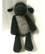 Scentsy Buddy Black Gray Sheep Lulu The Lamb Plush Stuffed Animal NO SCE... - $46.03
