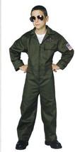 Aviator Or Jet Pilot Flight Suit Lg 12/14 Child's - $40.00