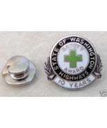 State of Washington Highways Sterling Safety Award Pin - $5.99