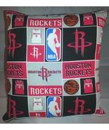 Rockets Pillow Houston Rockets Pillow NBA Basketball Handmade in USA - $11.96