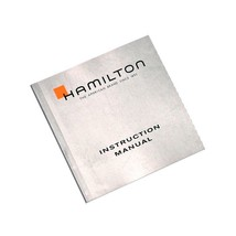 Hamilton Watch Instruction Manual Silver Booklet - $19.00