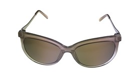 Kenneth Cole Reaction Mens Soft Square Brown Crystal Sunglass KC1292 59F image 2