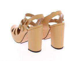 Leather Incontri 5 EU39 Shoes Andrea US8 Women Beige Pumps Heels vC4xnRtH