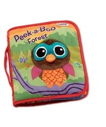 Infant Baby Kids Lamaze Crinkle Peek-a-Boo Forest Cloth Book Developmental Toys - $19.88