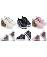 New 3 Color Baby Boys Girls First Walking Shoes Soft Bottom Baby Shoes G573 - $16.99
